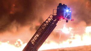 Fire in Illinois
