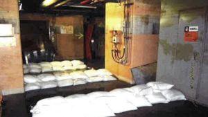 Fukushima sandbags