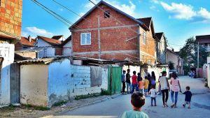 Kosovo street