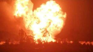 LPG tanker blast