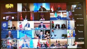 he G20 Extraordinary Virtual Leaders' Summit on coronavirus