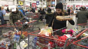 U.S. grocery store
