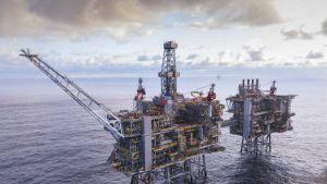 UK offshore platform