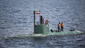 Iran submarine
