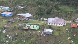 Destruction in Fiji