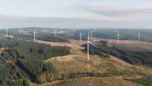 Giant wind farm