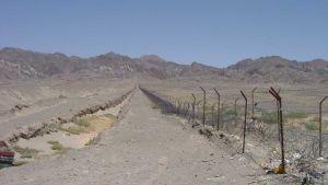 Pakistan border with Iran