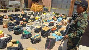 Bolivia seizes 540 kilograms of cocaine