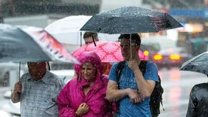 Four months of rain fell in just minutes in Victoria