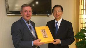Michael Creed and Zhang Jiwen