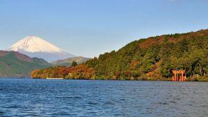 Mt. Hakone near Tokyo