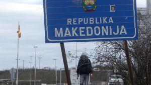 North Macedonia street