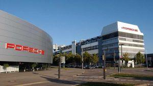 Porsche offices in Stuttgart