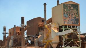 SLN smelter in Noumea