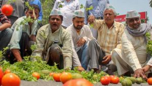 The fruit and vegetable traders