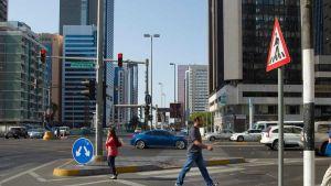 Abu Dhabi street