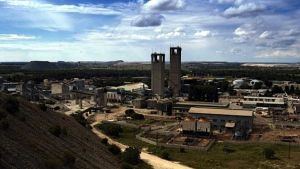AngloGold Ashanti mine in South Africa