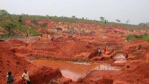 Angola mine