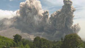 Apoyeque volcano
