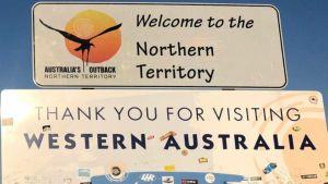 Australia border