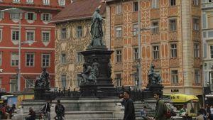 Austria street people