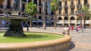 Barcelona street water
