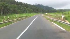 Cameroon road