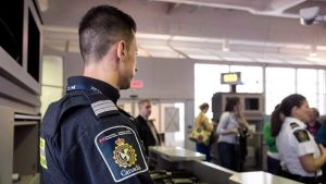 Canada border officers