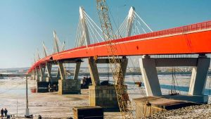 Car bridge between Russia and China