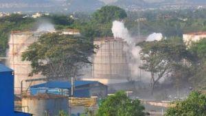 Chemical gas leak in India