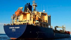 Chemical tanker Curacao Trader attacked
