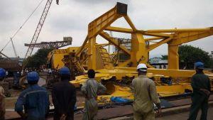Crane collapses