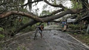 Cyclone Amphan in India