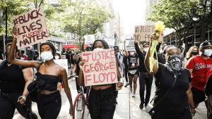 George Floyd protests