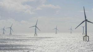German North Sea wind farm