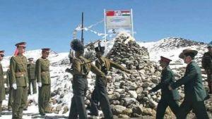 India China army