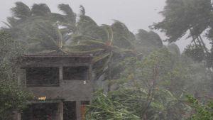 India storm