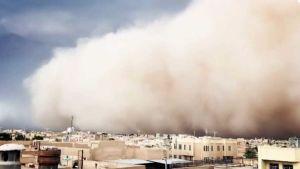 Iran dust storm