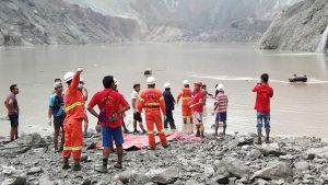 Jade mine collapse in Myanmar