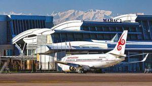 Kyrgyzstan airport