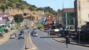 Lesotho street