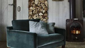 Modern rustic decorating style