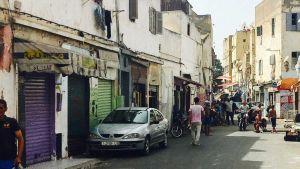 Morocco Casablanca street