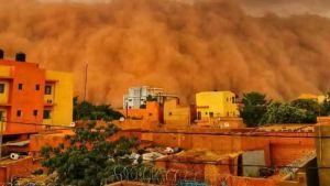 Niger sandstorm