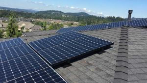Oregon solar roof