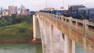 Paraguay-Brazil bridge