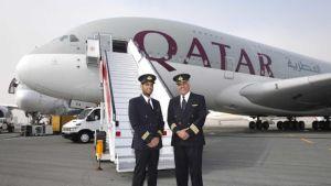Qatar Airways pilots