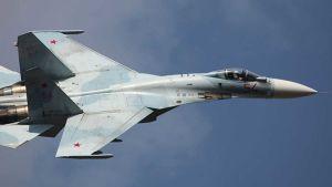 Russian fighting plane