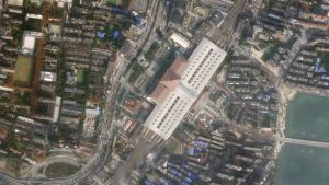 Satellite images Wuhan