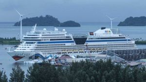 Seychelles port